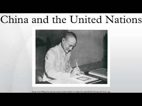 China and the United Nations