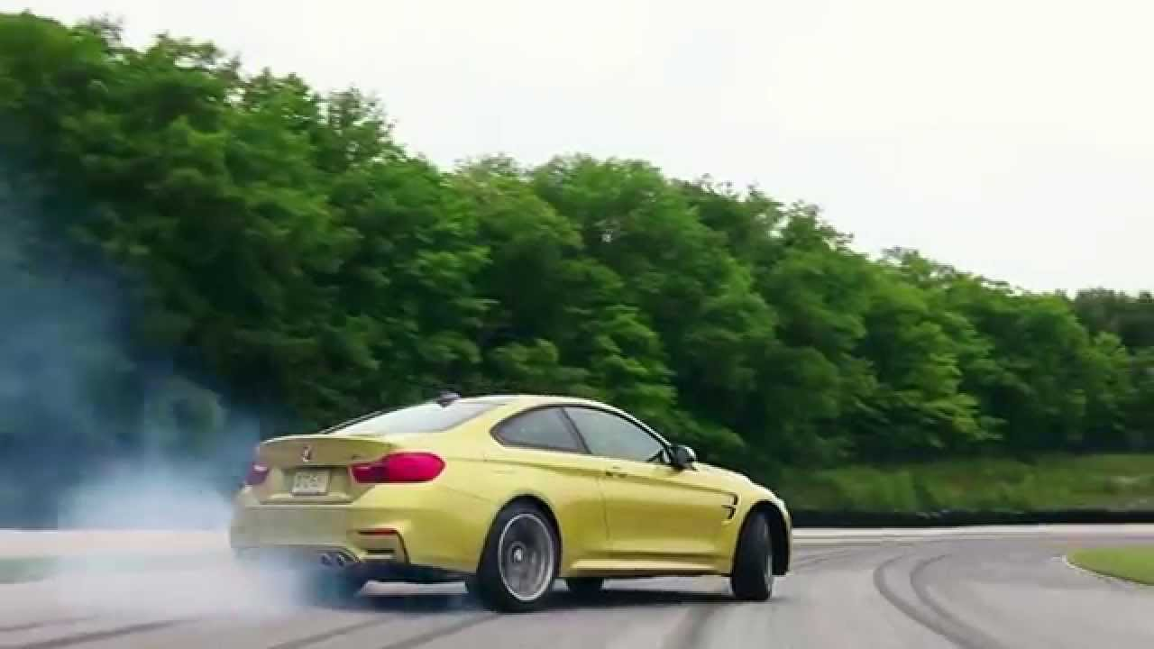 BMW Driving School >> Learn How To Properly Drift At BMW M4 Coupe - YouTube