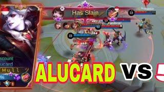 Download Alucard 4× triple kill + 2× maniac + 28 Kill top global alucard   Mobile Legend🔥🔥