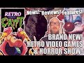 Retro Media Crypt - Brand New Video Game & Horror Show. Astal/Night of the Scarecrow/Killer Klowns.