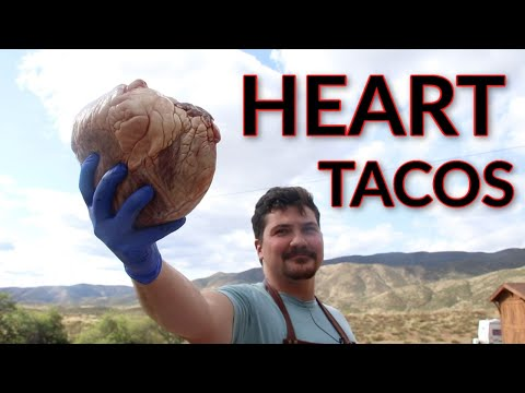 Cooking a Heart || Heart Tacos