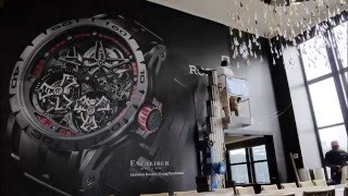 Roger Dubuis | Lotte New York Palace | Wall & Window Graphic Install