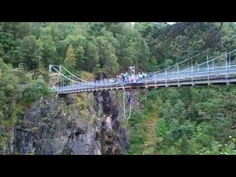 Strikkhopping - Rjukan (Bungee Jump)