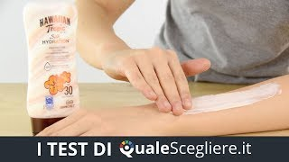 Hawaiian Tropic Silk Hydration SPF 30 la nostra prova | QualeScegliere.it