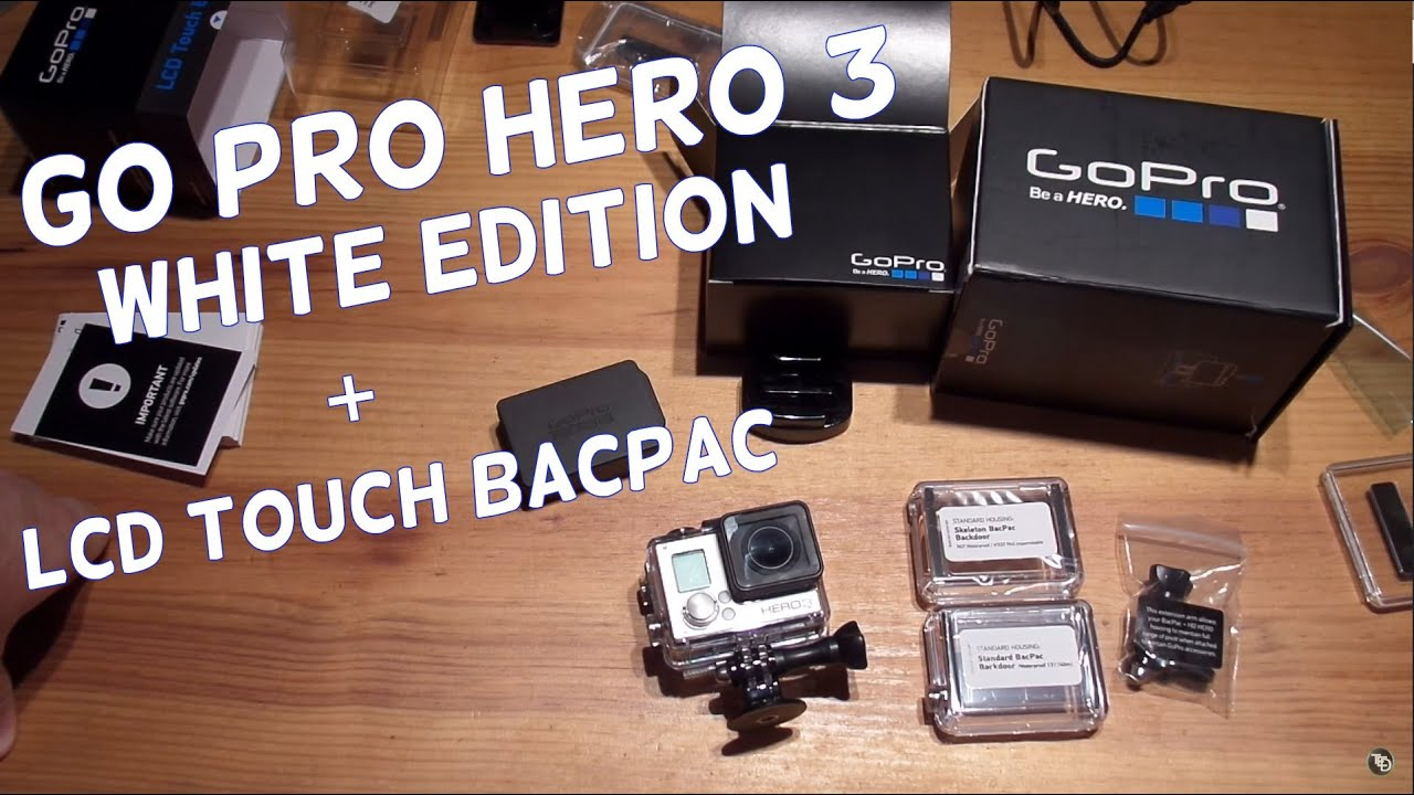 gopro hero 3 lcd touch bacpac manual