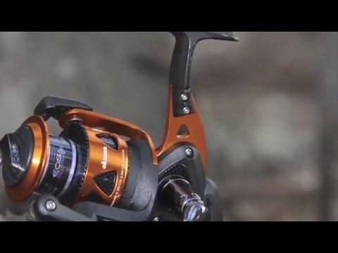 Okuma trio spinning youtube for Okuma fishing usa