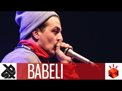 BABELI | Grand Beatbox SHOWCASE Battle 2017 | Elimination