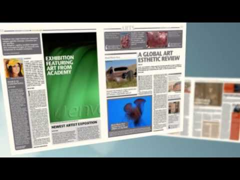 Newspaper Template 16 Pages Youtube
