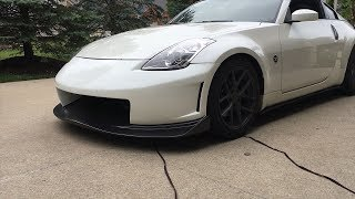 Test Fitting New Front Bumper On 350z!