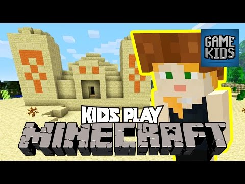 Swiss Family Ramsey Plays Minecraft Part 5 - Kids Play