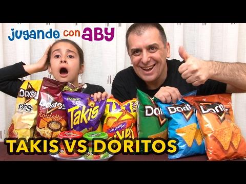 Takis contra Doritos. ¿CUÁL PICA MÁS? Doritos Roulette