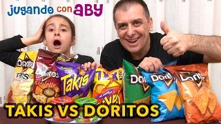 Takis contra Doritos. ¿CUÁL PICA MÁS? Doritos Roulette thumbnail