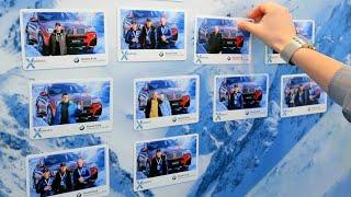 Инсталаб и выездная фотостудия для BMW и Mini(Гости размещают фотографии с заданным хэштегом в Инстаграме. Инсталаб делает из них квадратные фотомагнит..., 2015-04-09T00:03:35.000Z)