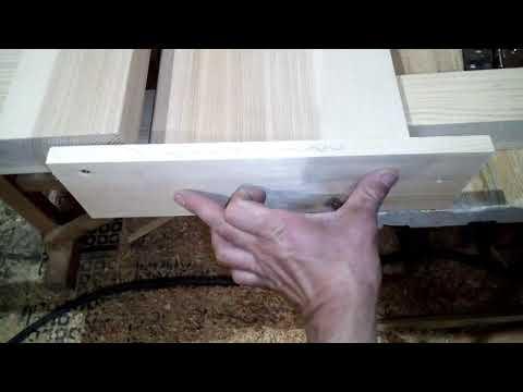 Простая разметка дверных петель под врезку на коробе.