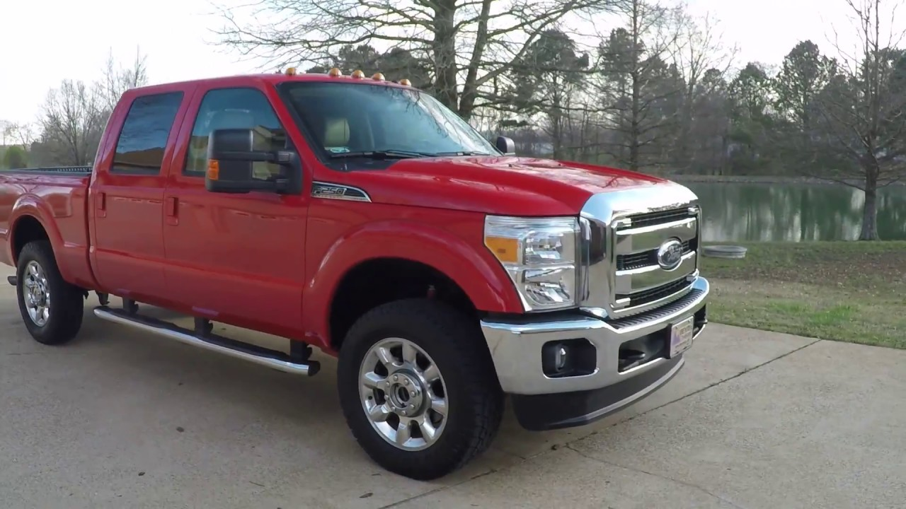 2016 Ford F250 >> West Tn 2016 Ford F250 Hd Lariat Race Red 6 2l V8 Gas Off Rd Used For Sale Info Www Sunsetmotors Com