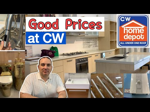 Cw Home Depot L Alabang L Prices Youtube