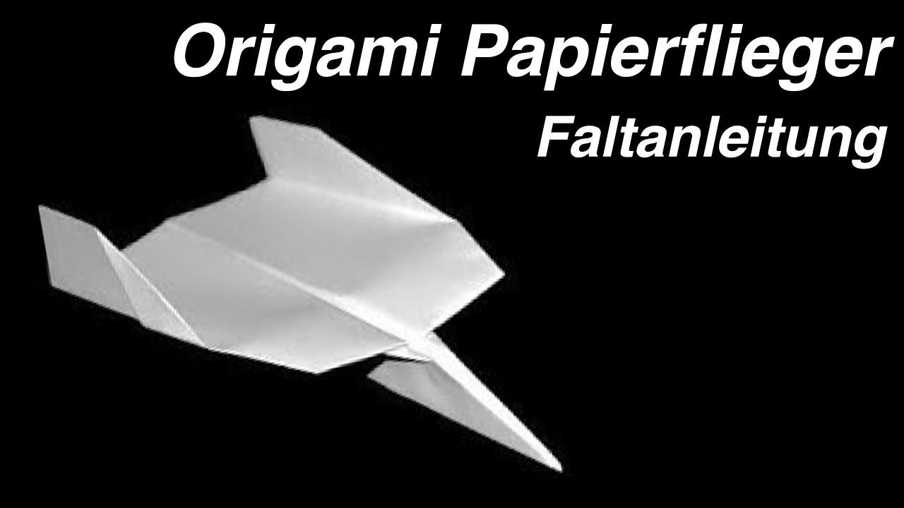 papierflieger falten anleitung