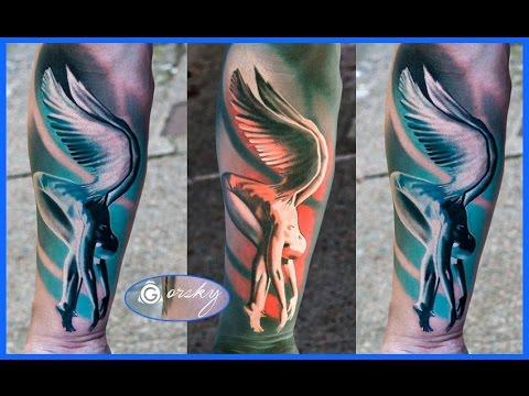 Mejores Tatuajes De Angeles Youtube