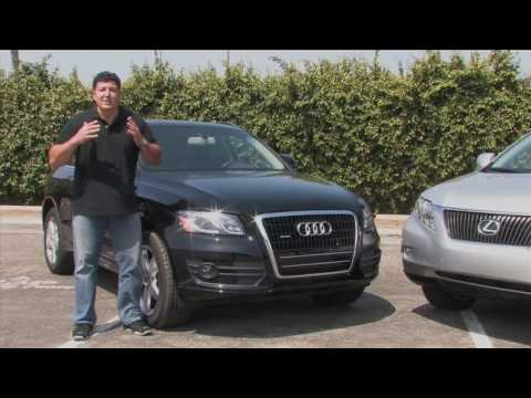2010 audi q5 vs lexus rx 350 youtube. Black Bedroom Furniture Sets. Home Design Ideas
