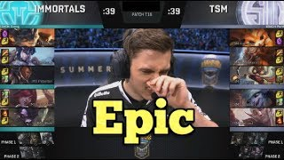 [EPIC] IMT (Flame Rumble) VS TSM (Hauntzer Gnar) Game 4 Highlights - 2017 NA LCS Summer Finals