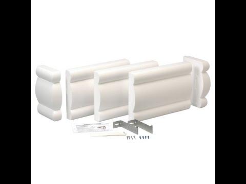 Home Sewing Depot - Instructions Styrofoam Cornice Kit
