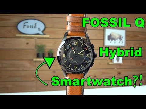 Fossil Q Hybrid Smartwatch Review!!!