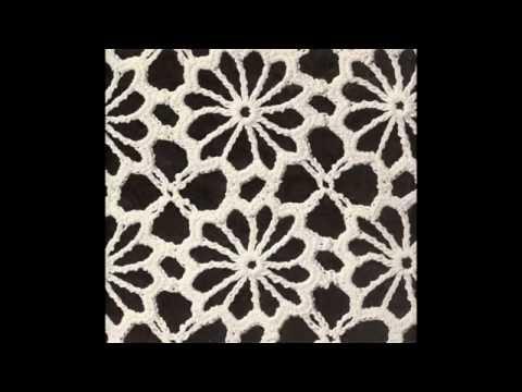 Camino de mesa 2 flores de noche buena en crochet doovi - Camino de mesa elegante en crochet ...