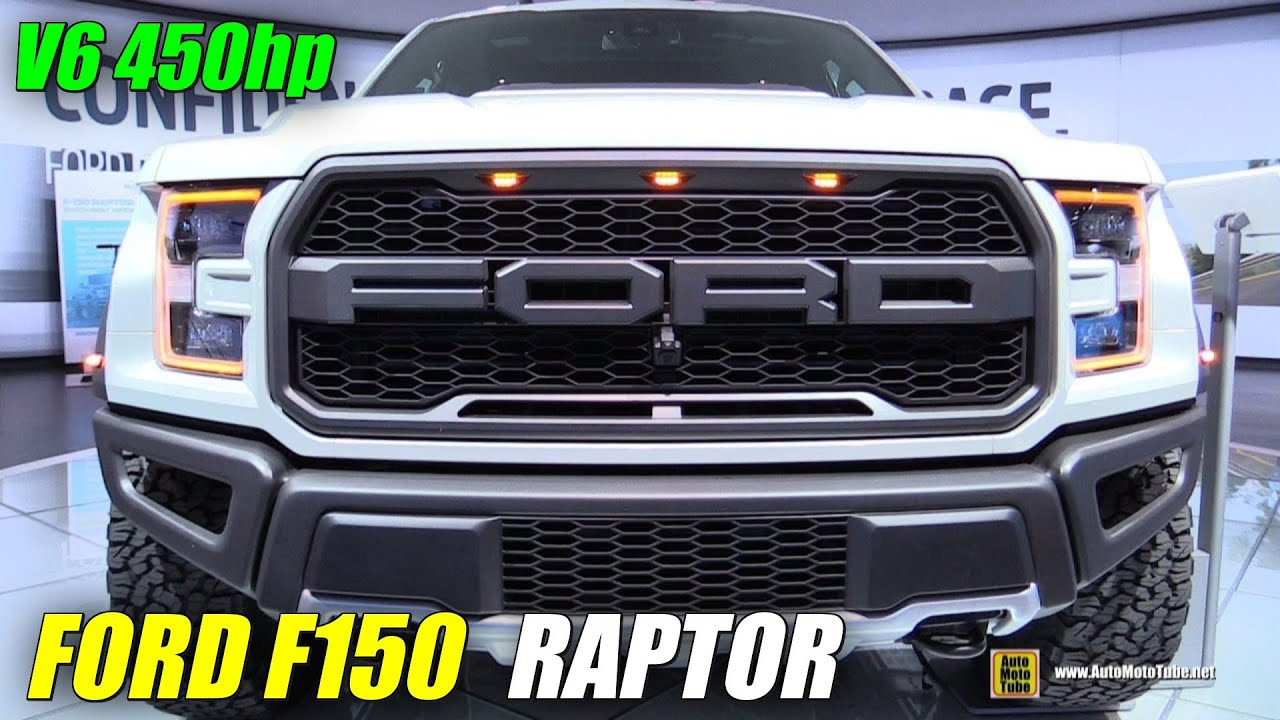 2017 Ford F150 Raptor Exterior And Interior Walkaround 2016 Detroit Auto Show