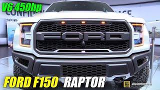 2017 Ford F150 Raptor - Exterior and Interior Walkaround - 2016 Detroit Auto Show