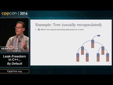 "CppCon 2016: Herb Sutter ""Leak-Freedom in C++... By Default."""