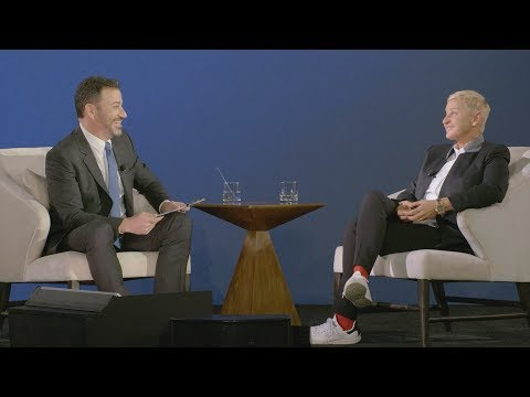 Jimmy Kimmel Interviews Ellen About 'Relatable'
