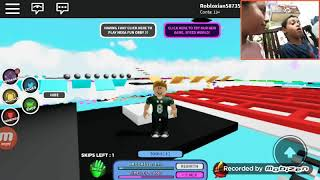 Video of Roblox very hard and cool!