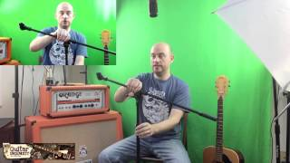On Stage Stands MS7701B Tripod Boom Microphone Stand Review