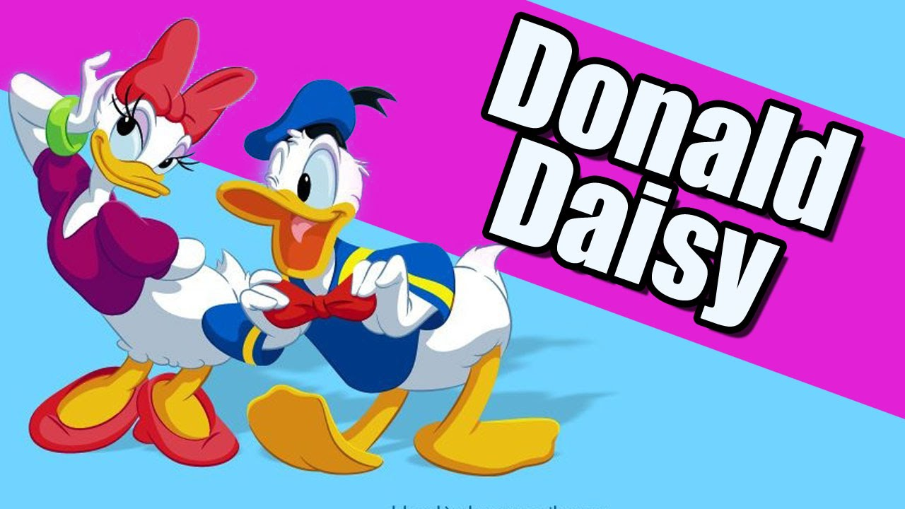 Donald Duck Daisy Duck Coloringpage book Duck Donald game for