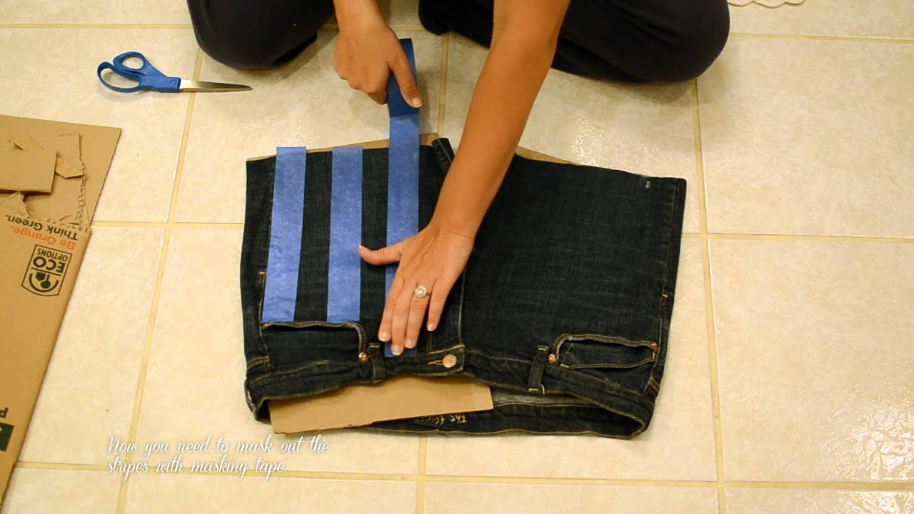 DIY Stars and Stripes Bleached Shorts Tutorial (2012 ...
