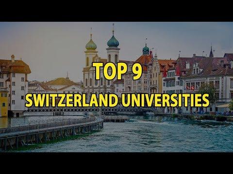 Top 9 Universities In Switzerland