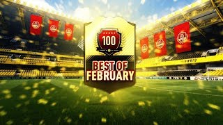 TOP 100 BEST OF FEBRUARY PACK! | LAST FIFA 17 PACK OPENING! | FUT CHAMPIONS TOP 100 WEEKLY REWARDS