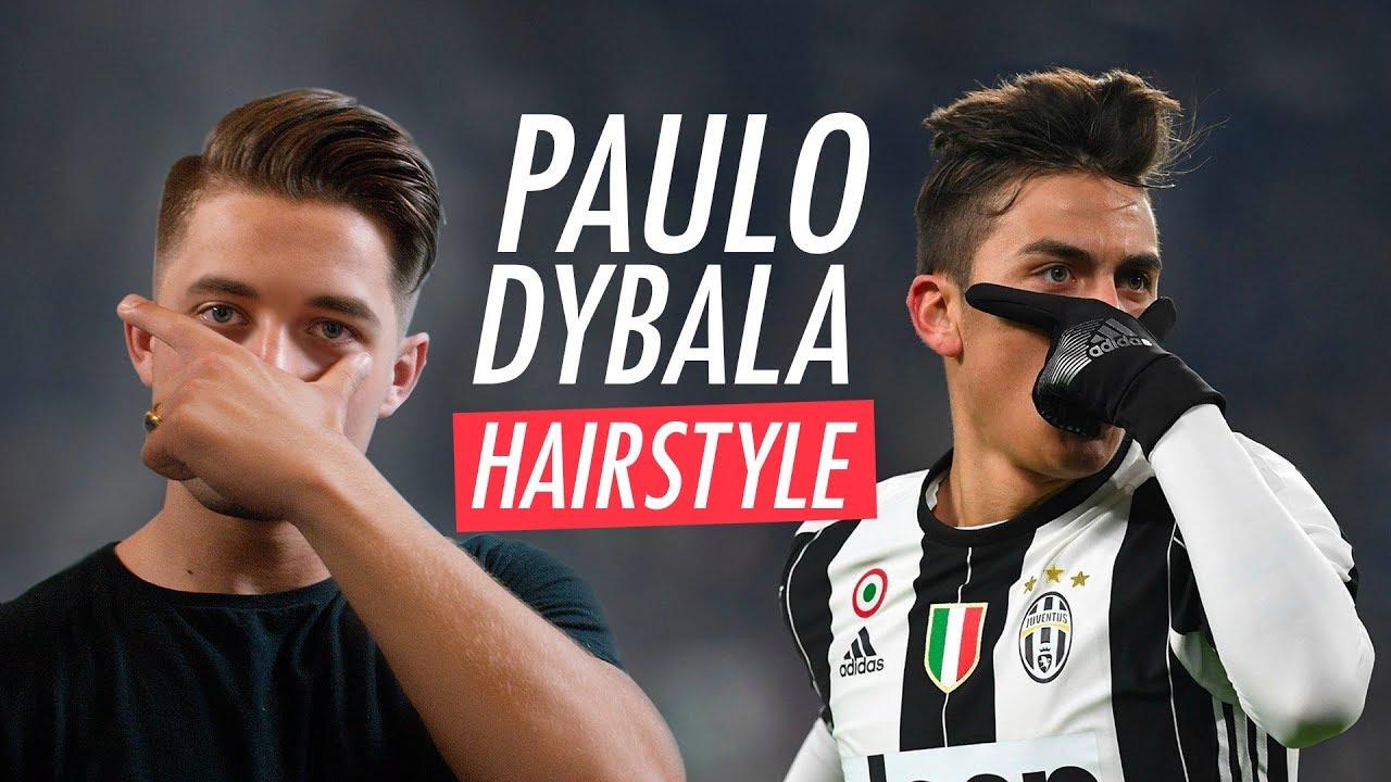 Paulo Dybala Hairstyle 2019 Men S Football Player Haircut Youtube
