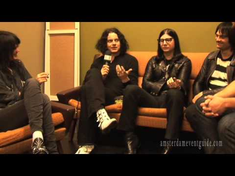 The Dead Weather Interview - Amsterdam