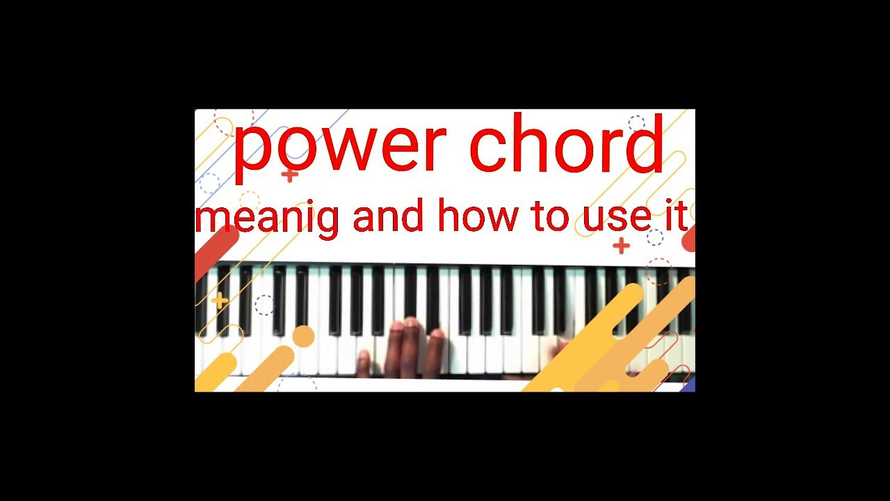 Download Power chords and how to use it(tutorial by naijapianist)