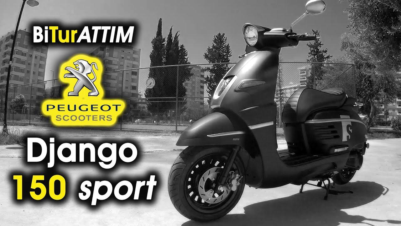 "Peugeot Django 150 Sport İle ""Bi Tur Attım"""
