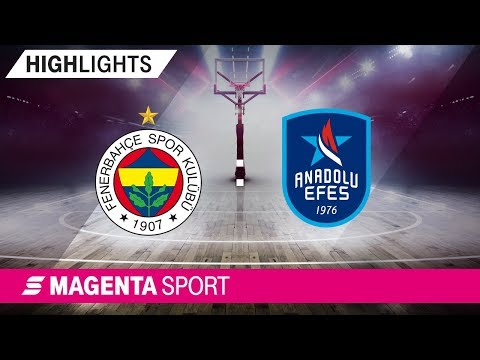 Fenerbahce Istanbul - Anadolu Efes Istanbul | Halbfinale, Spiel 1 | MAGENTA SPOR
