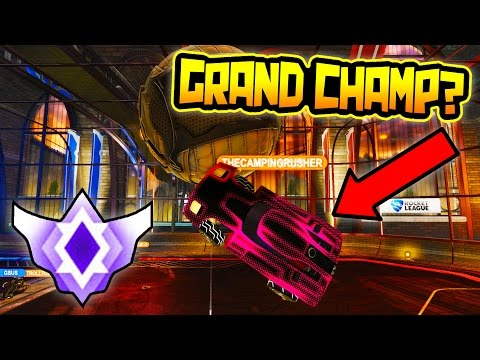 PLAYING GRAND CHAMPION DOUBLES ROCKET LEAGUE!!
