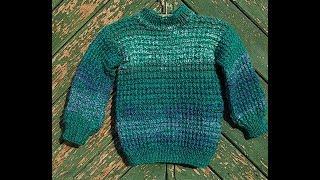 эксперсс МК  Детский свитер 1-2 года Вязание спицами