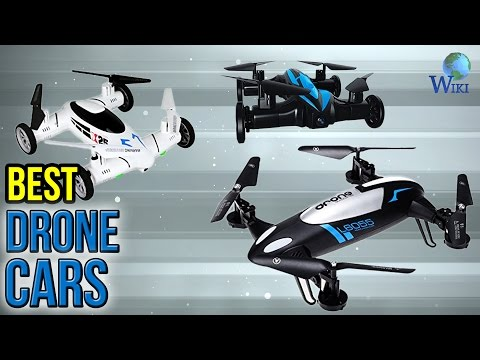 8 Best Drone Cars 2017