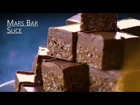 How to make rice crispy squares with mars bars