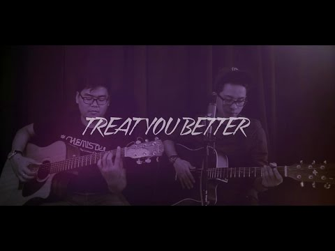 SHAWN MENDES - Treat You Better (LIVE Acoustic Cover by Fero & Fiqon)