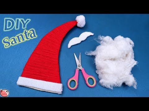 How to Make Santa Claus Step by Step for Kids | Christmas Decorations ideas 2018 | Christmas Crafs