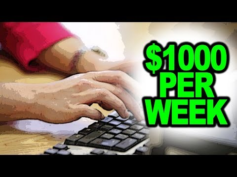 Earn $1000 Per Week (FREELANCE WRITING)