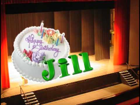Jill Birthday Cake